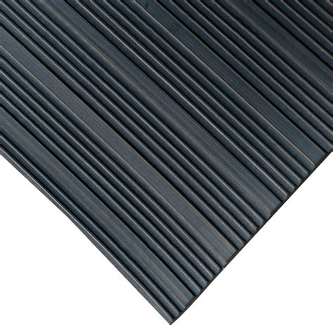 Corrugated Rubber Mat by Composite Rib Rubber Rubber Floor Mats 1 8 Thick 4 Wide