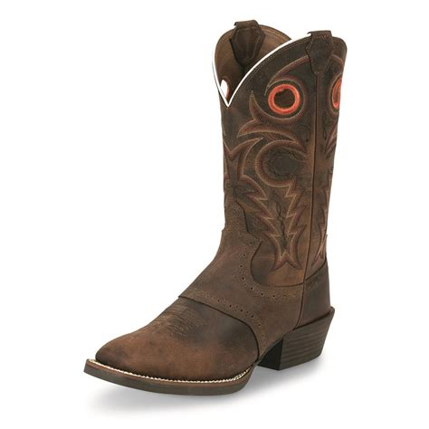 justin silver boots justin s whiskey buffalo silver collection cowboy