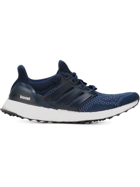 adidas blue sneakers lyst adidas ultra boost sneakers in blue for
