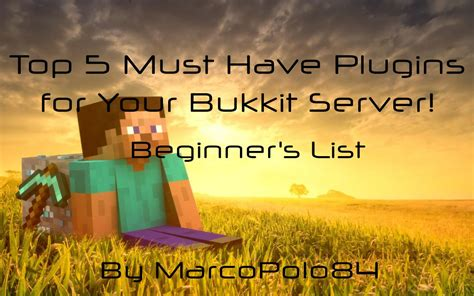 best plugins for bukkit top 5 must plugins for your bukkit server beginner s