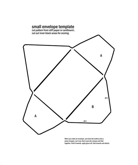 template of envelope small envelope template 8 sles exles format