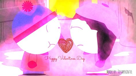south park valentines south park s day stan x wendy by