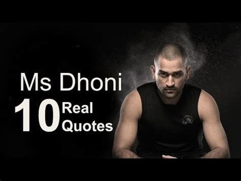 ms dhoni s inspirational poem mahendra singh dhoni 10 real life quotes on success