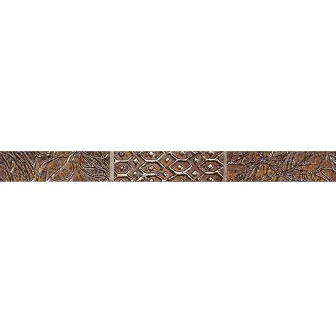 decorative trim home depot marazzi fiorenza trevi 3 in x 12 in glass accent