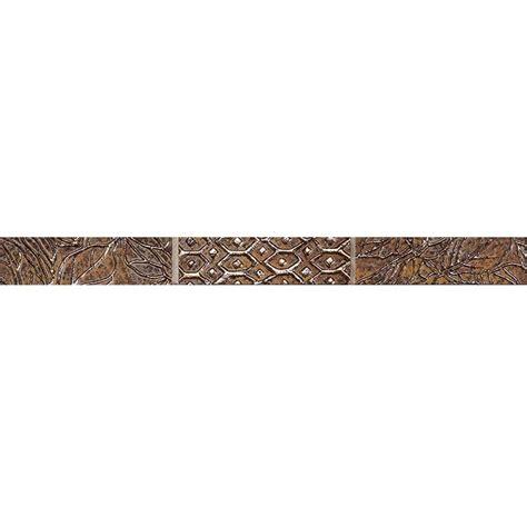 home depot decorative trim marazzi fiorenza trevi 3 in x 12 in glass accent