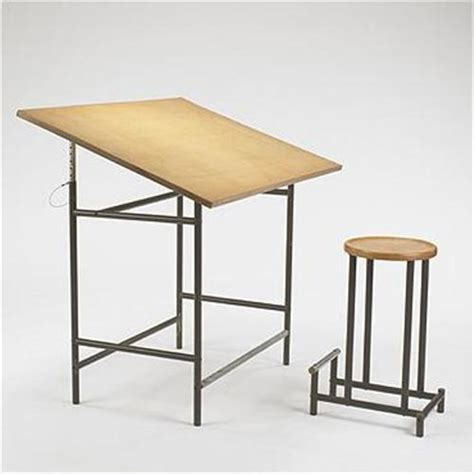 Drafting Tables Toronto Alvaro Siza Prototype Drafting Table And Stoo