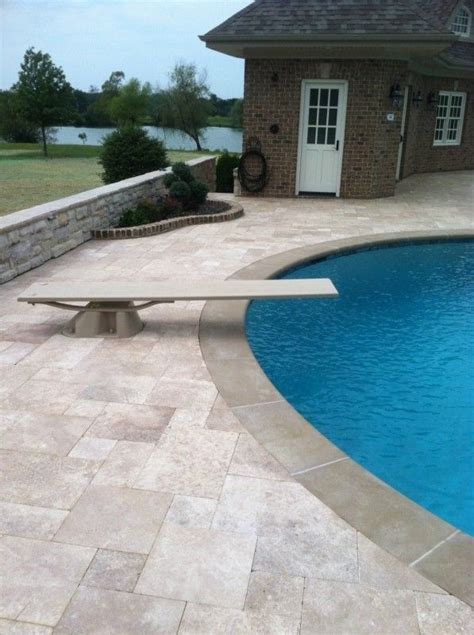 pool pavers ideas 46 best travertine pools patios images on pinterest