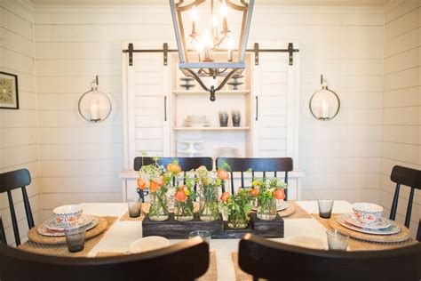Fixer Dining Room Centerpieces The Chicken House Magnolia Homes Bloglovin