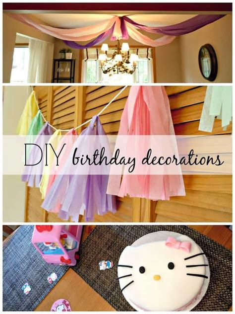 Cheap Hello Decorations by Birthday Diy Decorations