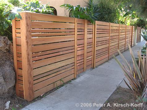 Horizontal Wood Fence Design Fences On Fence Fencing And Wood Fences