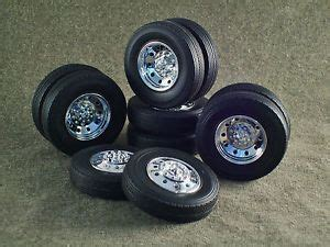 1 25 Scale Model Truck Wheels And Tires 1 25 Scale Model Car Parts Junk Yard Center Line Wheels Tires