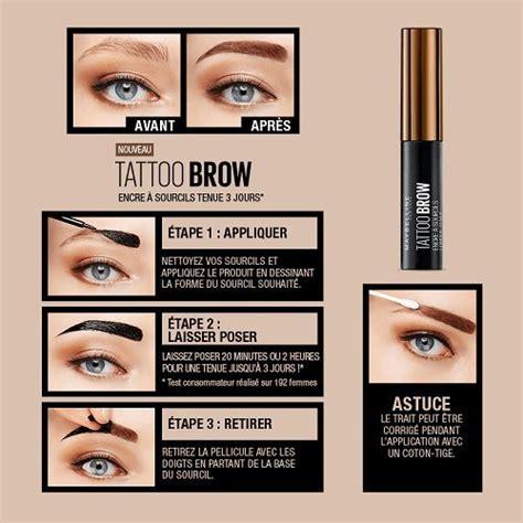 tattoo brow maybelline precio maybelline tattoo brow longlasting tint 4 9 ml dark