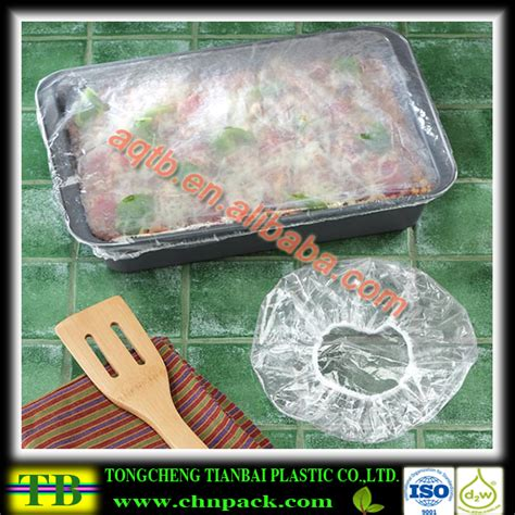 Plastic Food Cover clear plastic elastic bowl covers pe food covers buy