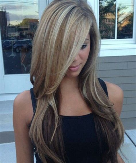 cute highlights blonde cute layered hairstyles with balayage blonde highlights