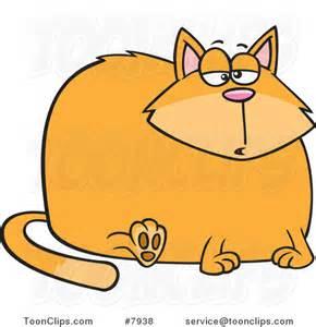cartoon fat cat 7938 ron leishman