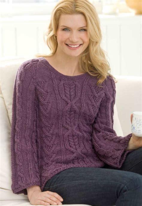modern sweater knitting patterns new aran sweater free knitting pattern knitting bee