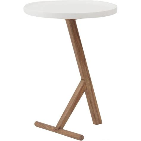 Wooden Side Tables by Buy T Bar Wooden And White Side Table From Fusion Living