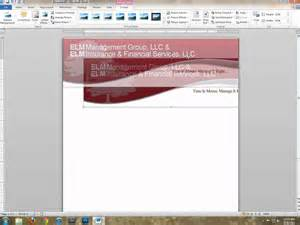 make a letterhead template in word 18 word header designs images word document header