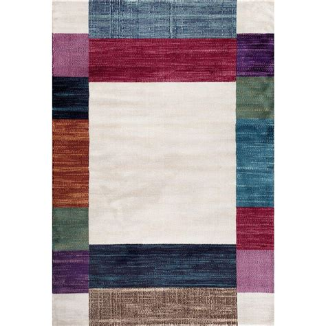 home world rugs world rug gallery contemporary modern boxes design multi 7 ft 10 in x 10 ft 2 in indoor area