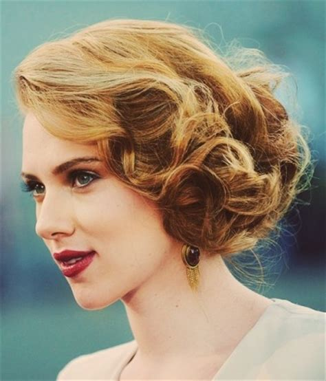 scarlett o hara hairstyle 29 best images about mid length hair styles on pinterest