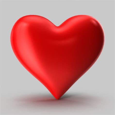 3d hearts 3d shape model
