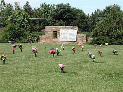 Oaklawn Memorial Gardens by Oak Lawn Memorial Gardens Johnson County Kansas
