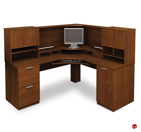 hton l shape computer desk top 28 bestar hton wood home office bestar hton