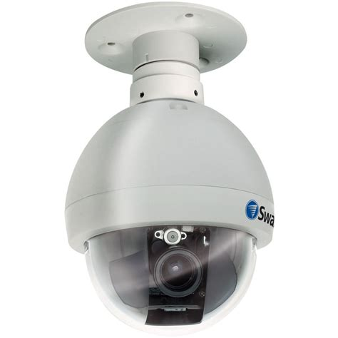 outdoor pan tilt swann pro 645 indoor outdoor pan tilt dome swpro 645cam