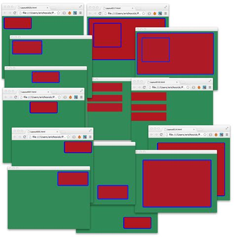 html layout engine a ux layout engine for a gui based development environment