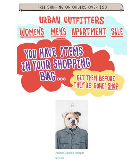 email format urban outfitters 28 email exles to inspire your entire email marketing