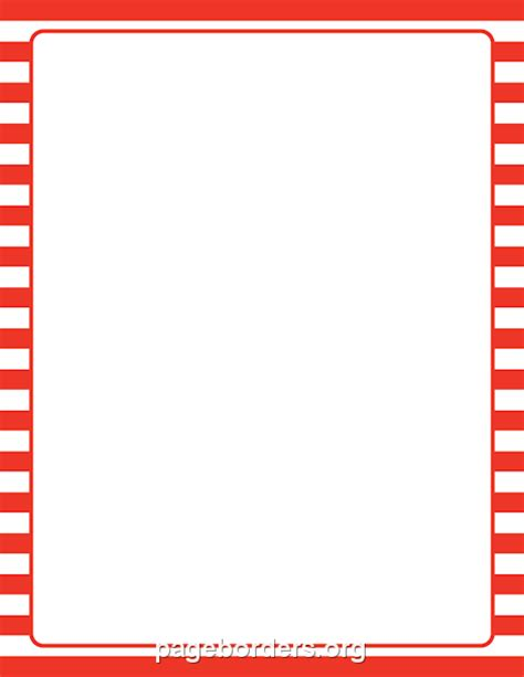 the gallery for gt red and white stripes border