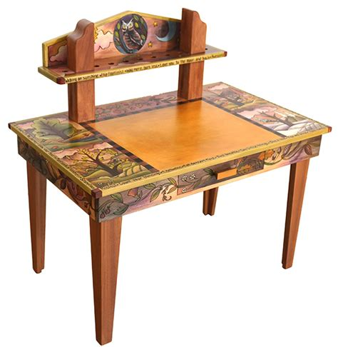 Owl Furniture by Whoo Whoo Wants An Awesome Desk A Custom Owl Themed