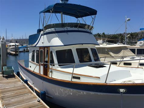 used trawler boats for sale 1975 used defever 34 passagemaker trawler boat for sale