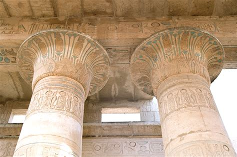 Columns For Decorations by File Luxor West Bank Ramesseum Column Top Decorations
