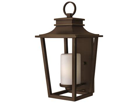 Hinkley Outdoor Lights Hinkley Lighting Sullivan Rubbed Bronze Led Outdoor Wall Light 1745oz Led