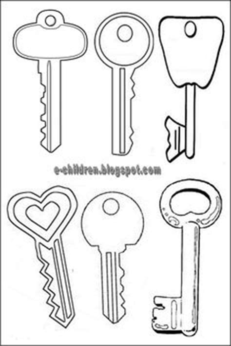 free printable key templates best photos of printable key template cut out free