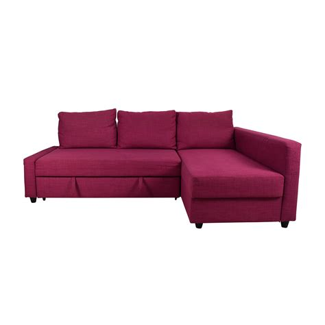 66 Off Ikea Ikea Friheten Pink Sleeper Sofa Sofas Ikea Sofa Sleeper