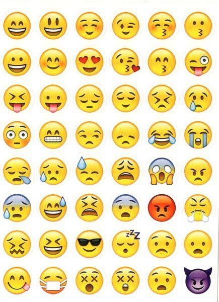 Sticker Smileys by 48 Stickers Smileys Emojis Gommettes Enfants Gommettes