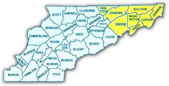 county map of east community resources