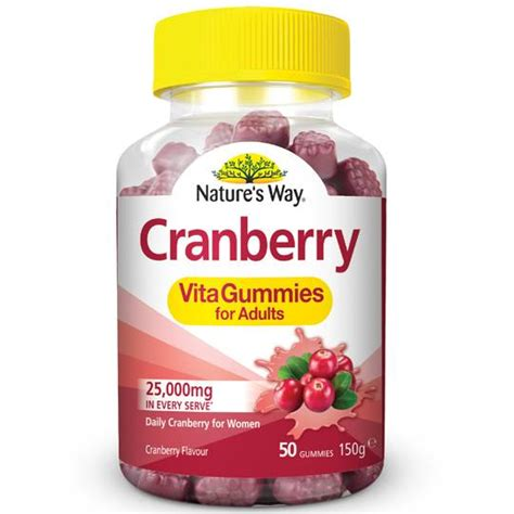 natures  adult vita gummies cranberry ratings mouths