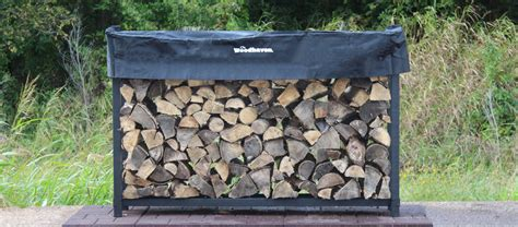 Woodhaven Firewood Rack Coupon by Firewood Racks And Covers At The Woodhaven