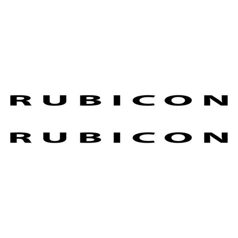 jeep rubicon logo vector www imgkid the image kid