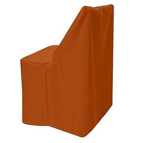 burnt orange folding chairs buy basic polyester cover for wood folding chair in burnt