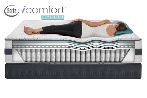 Icomfort Mattress by Serta 174 Icomfort 174 Hybrid Hb300s King Mattress