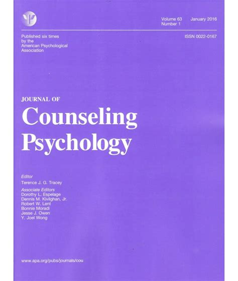 journal  counseling psychology philippine distributor  magazines books journals