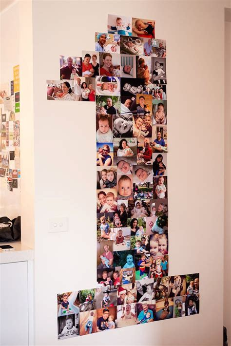 collage ideas best 25 birthday photo collages ideas on baby