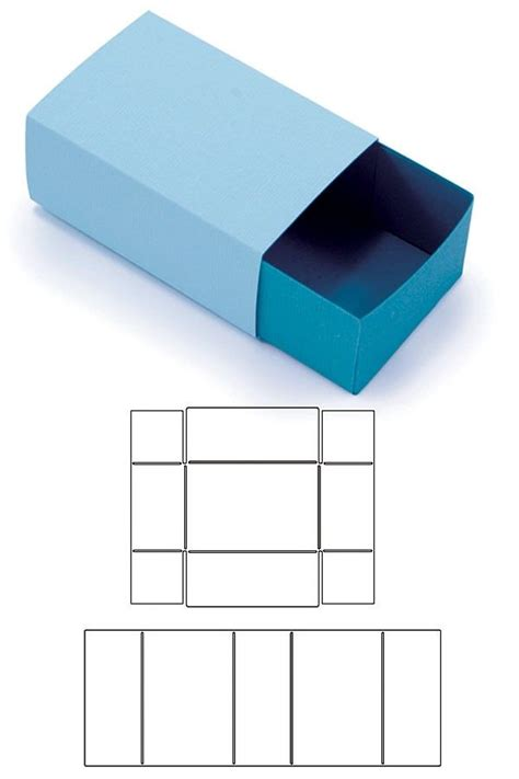 Craft Paper Box - 25 best ideas about paper box template on