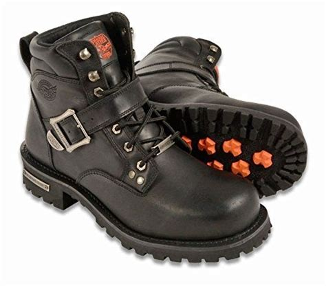 mens wide motorcycle boots milwaukee leather s wide motorcycle boots free shipping