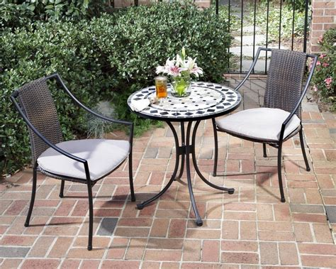 outdoor bistro table sets kinds of bistro table set