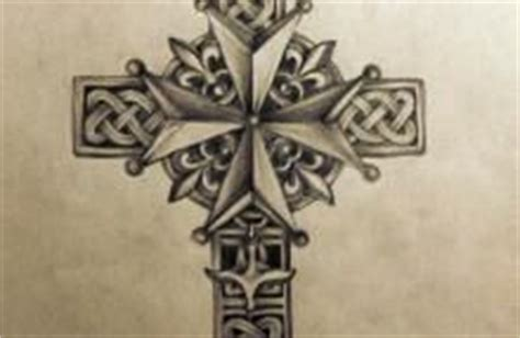 huguenot cross tattoo the world s catalog of ideas